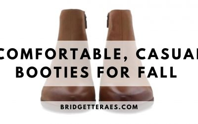 Comfortable, Casual Booties for Fall