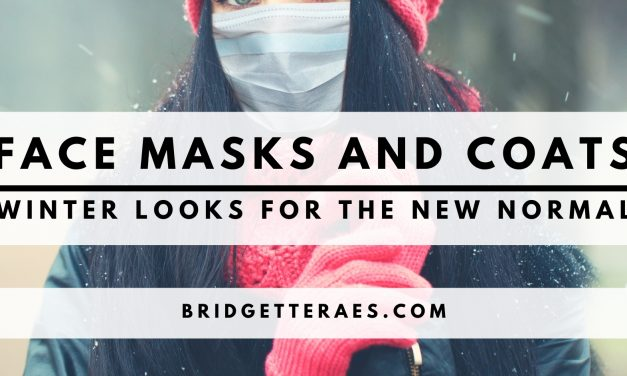 Face Masks and Coats: Winter Looks for the New Normal