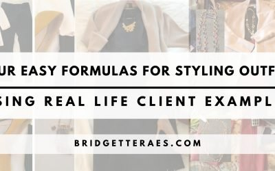 Four Easy Formulas for Styling Outfits