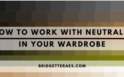 How to Work with Neutrals in Your Wardrobe