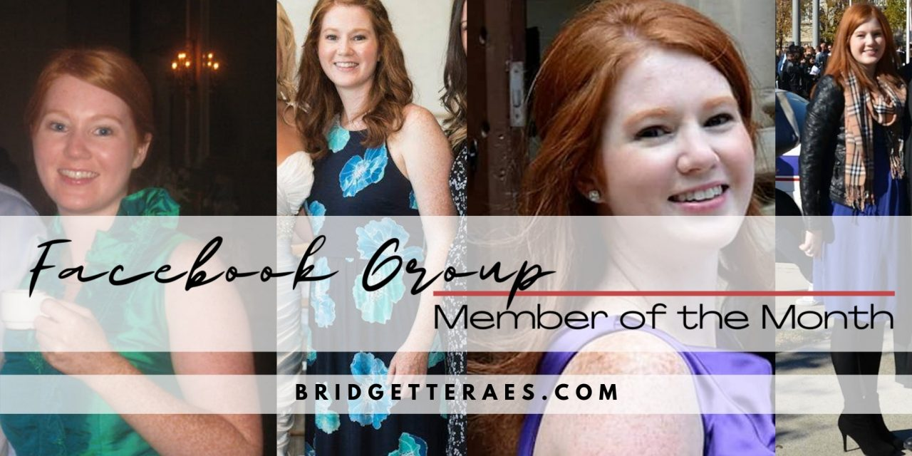 Facebook Group Member of the Month: Lisa Rigg