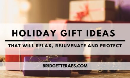 Holiday Gift Ideas that Will Relax, Rejuvenate, and Protect