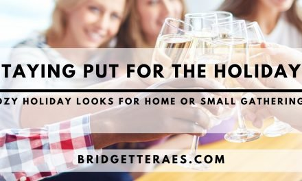 Staying Put for the HOlidays: Cozy Holiday Looks for Home or Small Gatherings