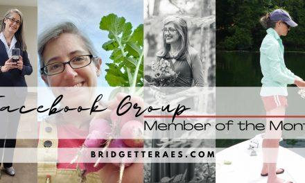 Facebook Group Member of the Month: Jeanne Kraimer