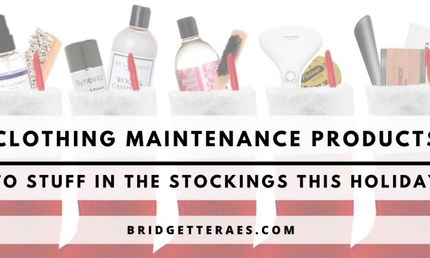 Clothing Maintenance Products to Stuff in the Stockings this Holiday