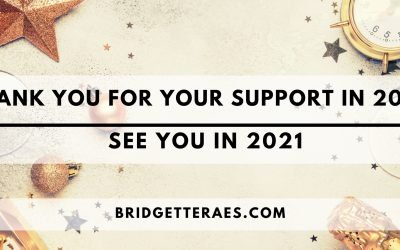 Thank You for Your Support in 2020: See You in 2021