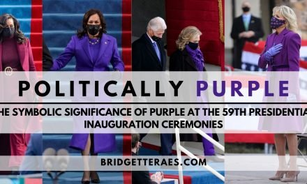 Politically Purple: The Symbolic Significance of Purple at the 59th Presidential Inauguration Ceremonies