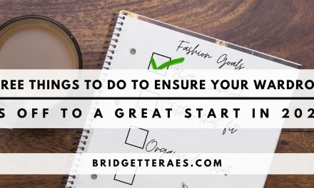 Three Things to Do to Ensure Your STYLE is Off to a Great Start in 2021