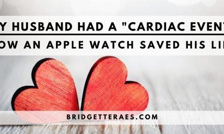 "My Husband Had a ""Cardiac Event"": How an Apple Watch Saved His Life"