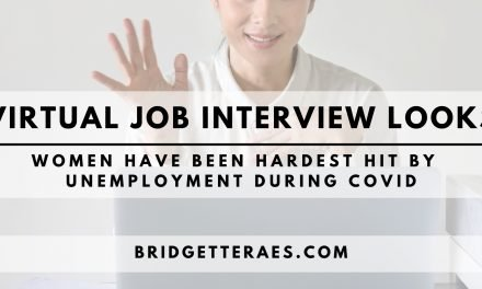 Virtual Job Interview Looks: Women Have been Hardest Hit by Unemployment During COVID
