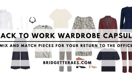 Back to Work Wardrobe Capsule: Mix and Match Pieces for Your Return to the Office