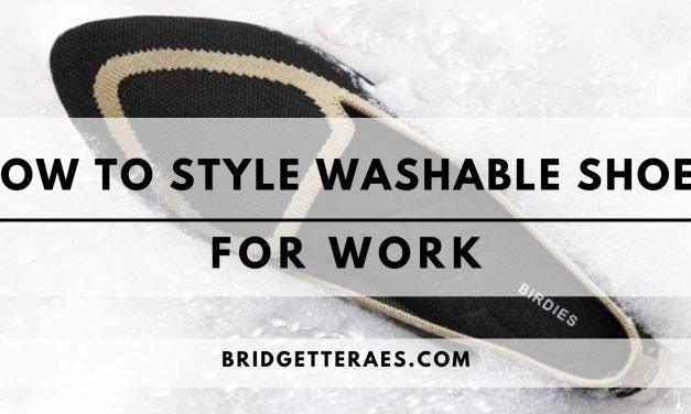 How to Style Washable Shoes for Work