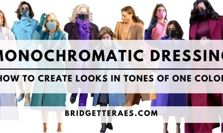 Monochromatic Dressing: How to Create Looks in Tones of One Color
