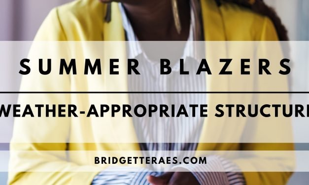 Summer Blazers: Weather-Appropriate Structure