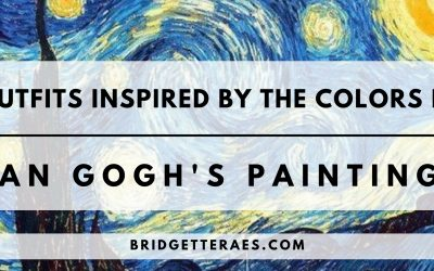 Outfits Inspired by The Colors in Van Gogh's Paintings