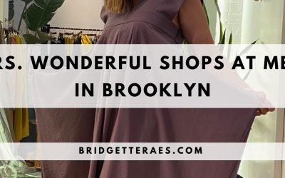 Mrs. Wonderful Shops at Meg in Brooklyn