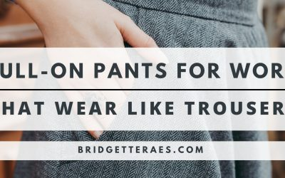Pull-On Pants for Work That Wear Like trousers