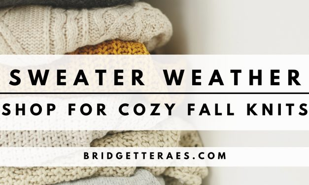 Sweater Weather: Shop for Cozy Fall Knits